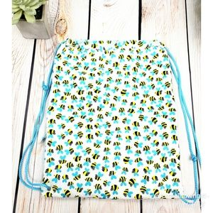 Bee Hive Day Backpack Yellow/Black/White/Blue